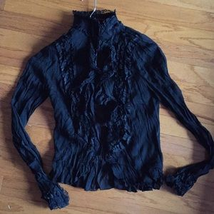 boutique Tops - See through blouse. Xs